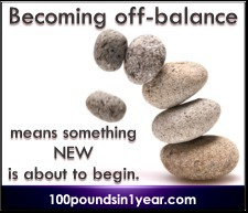 """Becoming off-balance means something new is about to begin."" - Shelby Humphreys"