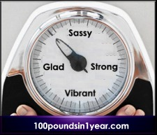 The 100 Pounds Scale Redoux: Sassy, Glad, Strong, Vibrant