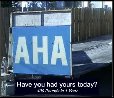 Aha - have you had yours today?