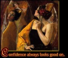 Confidence Always Looks Good On