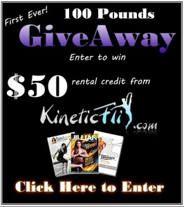 Win $50 in Credit from 100 Pounds in 1 Year and Kineticflix.com