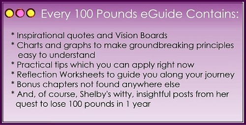 Every 100 Pounds in1 Year eGuide contains