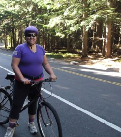 Biking Glacier National Park, 100 Pounds in 1 Year